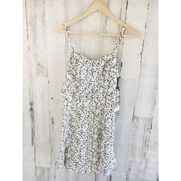 Jessica Simpson Geo Print  Dress Spaghetti Strap